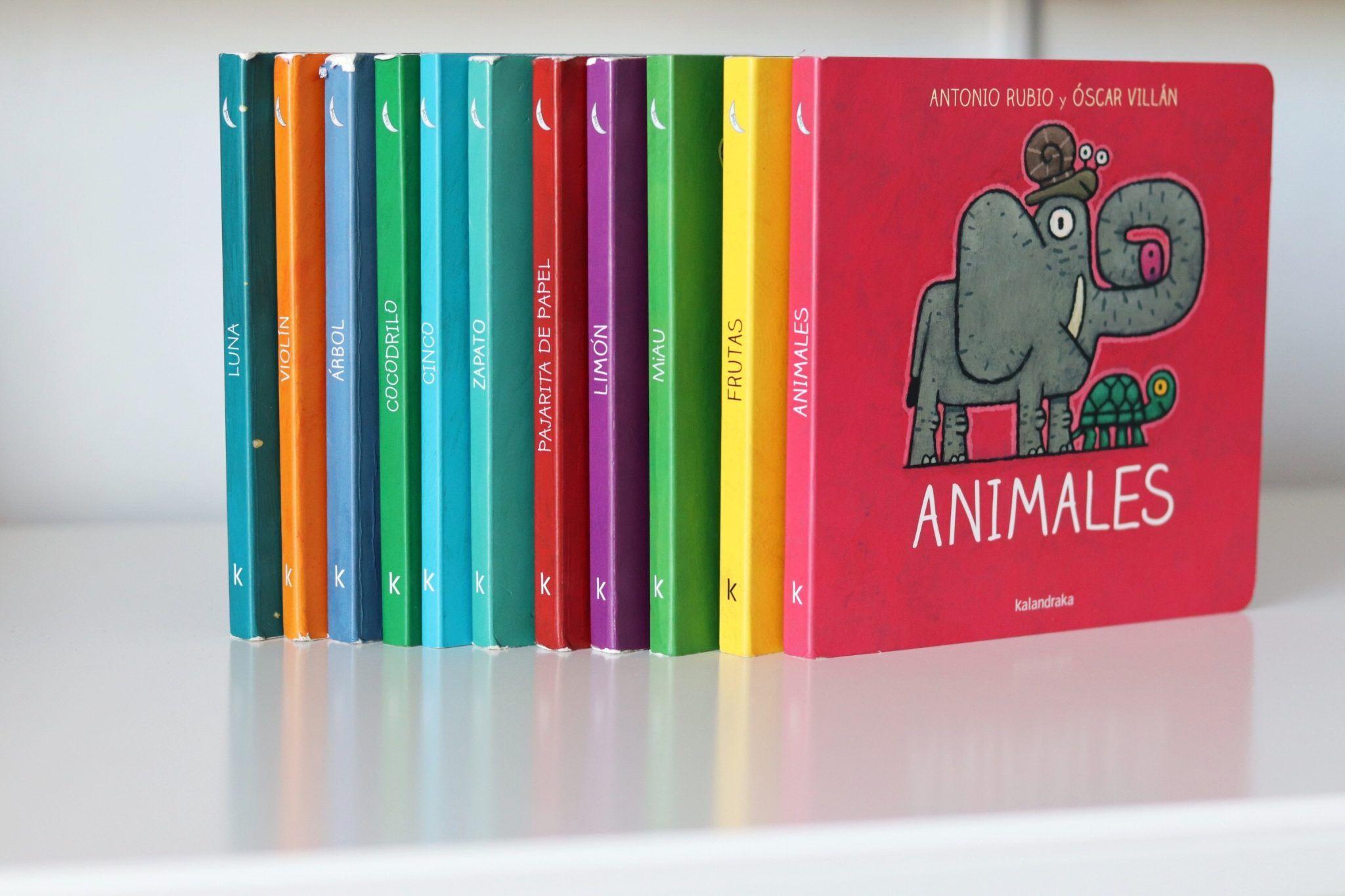 colección de libros kalandraka